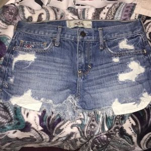 Hollister denim shorts